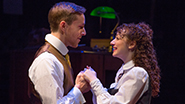 Adam Halpin as Jervis and Megan McGinnis as Jerusha in Daddy Long Legs