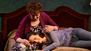 Carol Lawrence as Edna & Charlotte Cohn as Ayelet in Handle with Care.