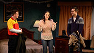 Sheffield Chastain as Terrence, Charlotte Cohn as Ayelet & Jonathan Sale as Josh in Handle with Care.