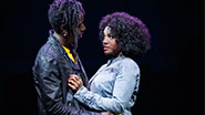 Saul Williams as John & Saycon Sengbloh as Corinne in 'Holler If You Hear Me'