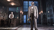 Frank Wood as Night Clerk and Forest Whitaker as Erie Smith in Eugene O'Neill's Hughie