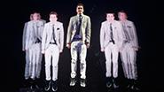 Adam Trent as The Futurist in The Illusionists