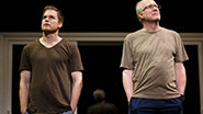 Michael C. Hall as John & Tracy Letts as Bob  in 'The Realistic Joneses'