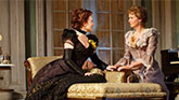 Laura Linney as Regina and Cynthia Nixon as Birdie in The Little Foxes.