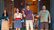 America Ferrera as Sally, Tracee Chimo as Chloe, Austin Lysy as John & Michael Chernus as Sam in 'Lips Together, Teeth Apart'