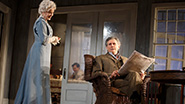 Jessica Lange as Mary Tyrone and Gabriel Byrne as James Tyrone in Long Day's Journey Into Night