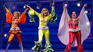 Felicia Finley, Judy McLane and Lauren Cohn in Mamma Mia!.