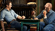 James Franco as George & Chris O'Dowd as Lennie in 'Of Mice and Men'