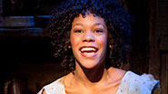 Nikki M. James in The Book of Mormon.