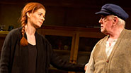 Debra Messing as Rosemary and Peter Maloney as Tony in 'Outside Mullingar'