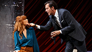 Kelly Reilly as Kate and Clive Owen as Deeley in 'Old Times'