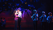 Ana Villafañe as Gloria Estefan and Josh Segarra as Emilio Estefan in 'On Your Feet'