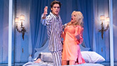 Pico Alexander as Freddie and Sherie Rene Scott as Atalanta in The Portuguese Kid