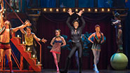 Patina Miller and the cast of Pippin.