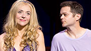 Rachel Bay Jones as Catherine and Josh Kaufman as Pippin in 'Pippin'