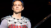 Josh Kaufman as Pippin in 'Pippin'