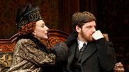 "Tina Benko as ""Mutzi"" von Fessendorf and Michael Esper as Béla Hoyos in 'Tales From Red Vienna'"