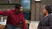 Denzel Washington as Walter Younger &  LaTanya Richardson Jackson as Lena Younger in 'A Raisin in the Sun'