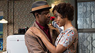 Denzel Washington as Walter Younger & Sophie Okonedo as Ruth Younger in 'A Raisin in the Sun'