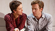 Maggie Gyllenhaal as Annie and Ewan McGregor as Henry in 'The Real Thing.'