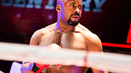 Terence Archie as Apollo Creed in Rocky.