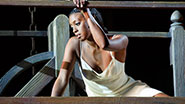 Condola Rashad in Romeo and Juliet.