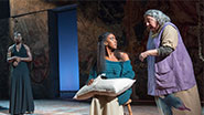 Roslyn Ruff, Condola Rashad and Jayne Houdyshell in Romeo and Juliet.