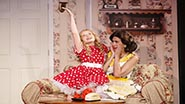 Tori Murray and Kim Maresca in Ruthless! The Musical