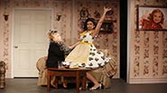 Rita McKenzie and Kim Maresca in Ruthless! The Musical