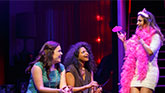 Lindsay Mendez as Laura, Rebecca Naomi Jones as Vanessa and Sas Goldberg as Kiki in Significant Other.