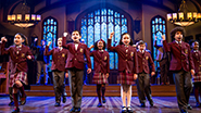 The Children's ensemble of School of Rock