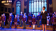 Sierra Boggess as Rosalie and the cast of School of Rock