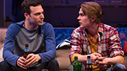 Jake Epstein as Ben and Thomas E. Sullivan as Chris in Straight