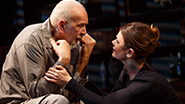Frank Langella as Andre and Kathryn Erbe as Anne in The Father