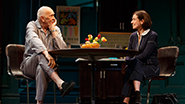 Frank Langella as Andre and Hannah Cabell as Laura in The Father