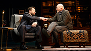 Brian Avers as Pierre and Frank Langella as Andre in The Father