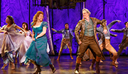 Carolee Carmello as Mae Tuck and Michael Park as Angus Tuck in Tuck Everlasting