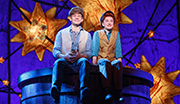 Andrew Keenan-Bolger as Jesse Tuck and Sarah Charles Lewis as Winnie Foster in Tuck Everlasting