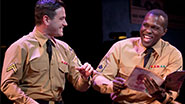 Colin Donnell as Monty & Joshua Henry as Flick in 'Violet'