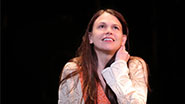 Sutton Foster as Violet in 'Violet'