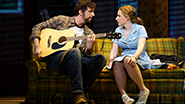 Eric Anderson as Cal and Jessie Mueller as Jenna in Waitress