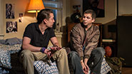 Kieran Culkin as Dennis and Michael Cera as Warren in 'This Is Our Youth'