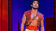Adam Jacobs as Aladdin in Aladdin.