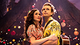 Alison Luff and Paul Alexander Nolan in Escape to Margaritaville on Broadway