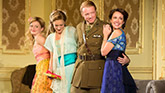 Anna Baryshnikov, Charlotte Parry, Mathew James Thomas and Anna Camp in Time and the Conways.