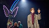 James McArdle, Susan Brown, Nathan Stewart Jarret and Andrew Garfield In Angels In America on Broadway