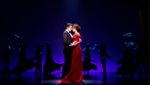 Andy Karl and Samantha Barks in Pretty Woman the musical
