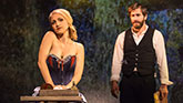 Jake Gyllenhaal as Georges and Annaleigh Ashford as Dot in Sunday In The Park With George