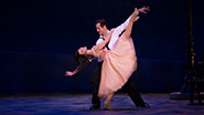 Robert Fairchild as Jerry Mulligan & Leanne Cope as Lise Dassin in 'An American in Paris'