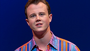 Quinn VanAntwerp as Bob Gaudio in 'Jersey Boys'